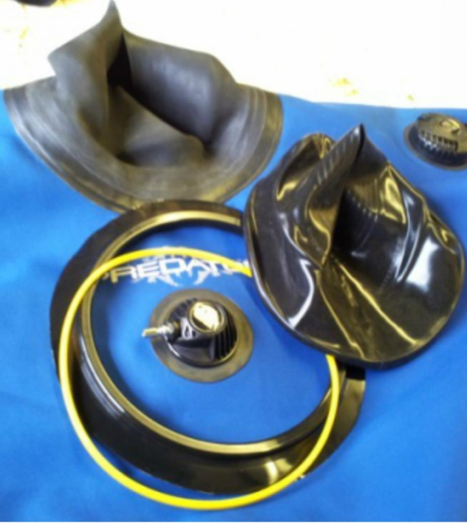 Drysuit Neck Seal Repairs