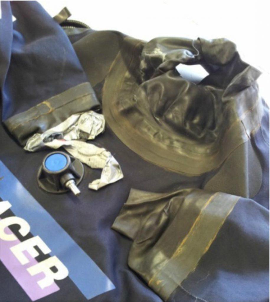 Drysuit Cuff Seal Repairs