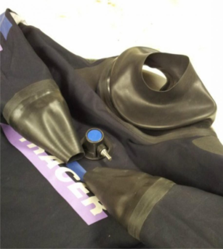 Drysuit Cuff Seal Repairs